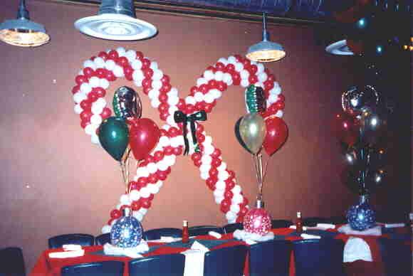 Balloon sculptures for Candy cane balloon sculpture