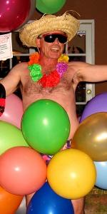 Bikini In Balloons Singing Telegram