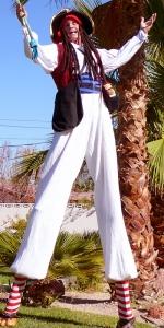 Las Vegas Captain Willy Stilt Walker