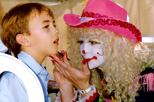 Las Vegas Face Painting Boy 1