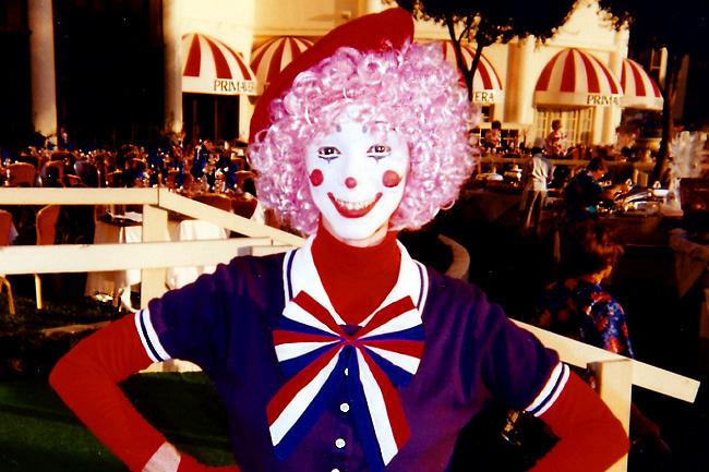 Girl Clowns In Las Vegas