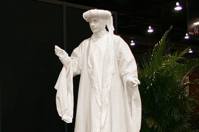 Las Vegas Living Statues