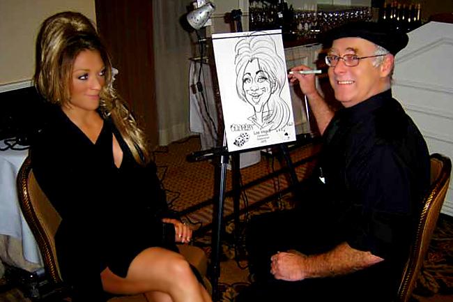 Caricaturists In Las Vegas